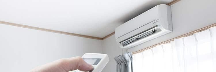 airconditioning met afstandsbediening